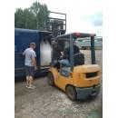 Мраморный щебень в биг-беге (фр. 40-80 мм.) 1000 кг. / 1 тонна.
